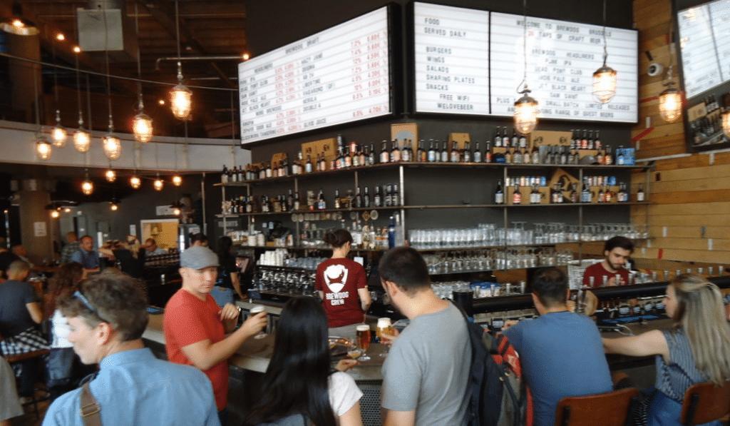 BrewDog : le bar à bières parfait des afterworks entre collègues !