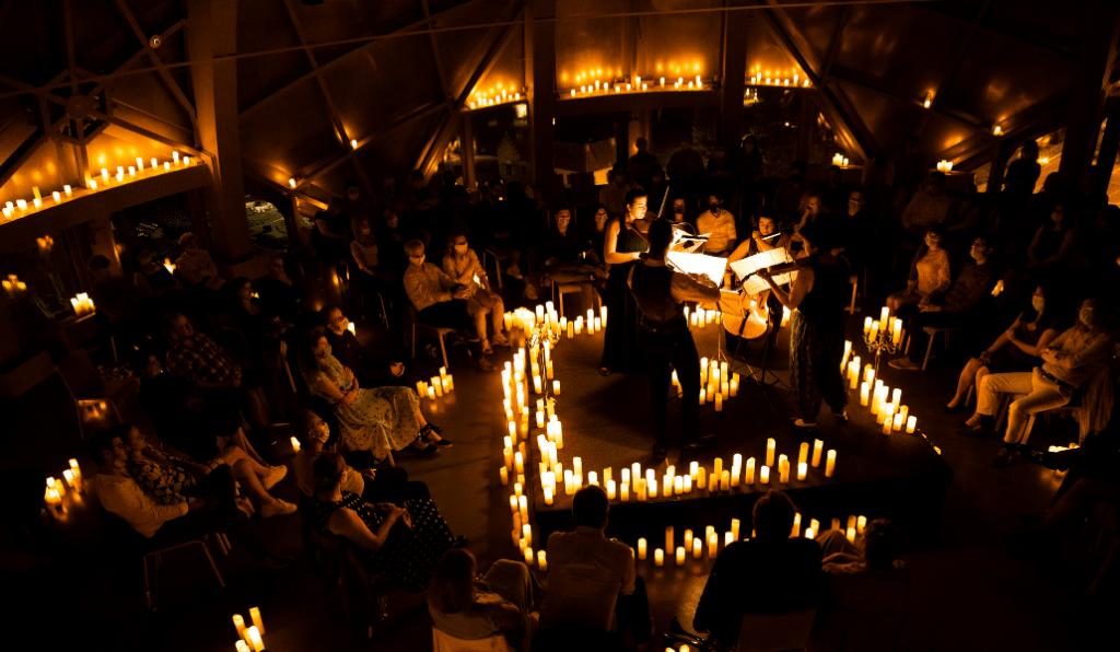 Candlelight Premium : la magie des concerts classiques à la bougie à l'Atomium !