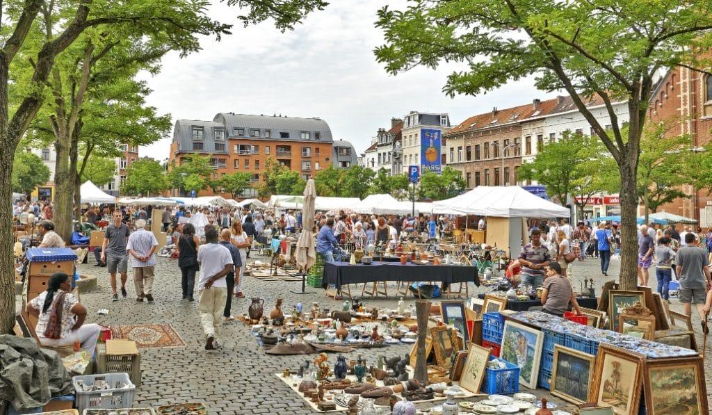 Les marchés Sablon et Jeu de Balle ferment pour un mois !