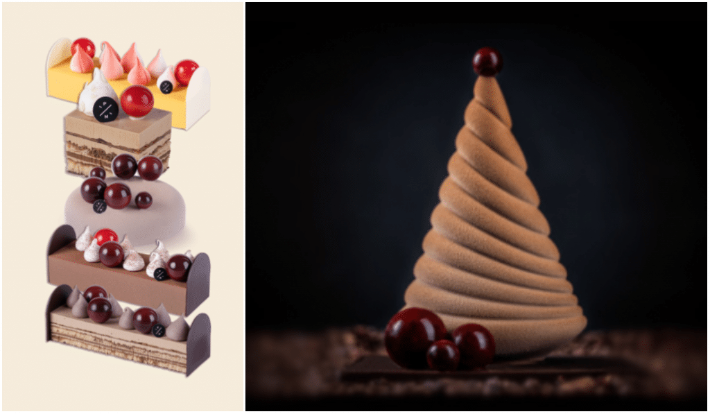 Le belge Pierre Marcolini révèle sa gamme de bûches de Noël 2020 !
