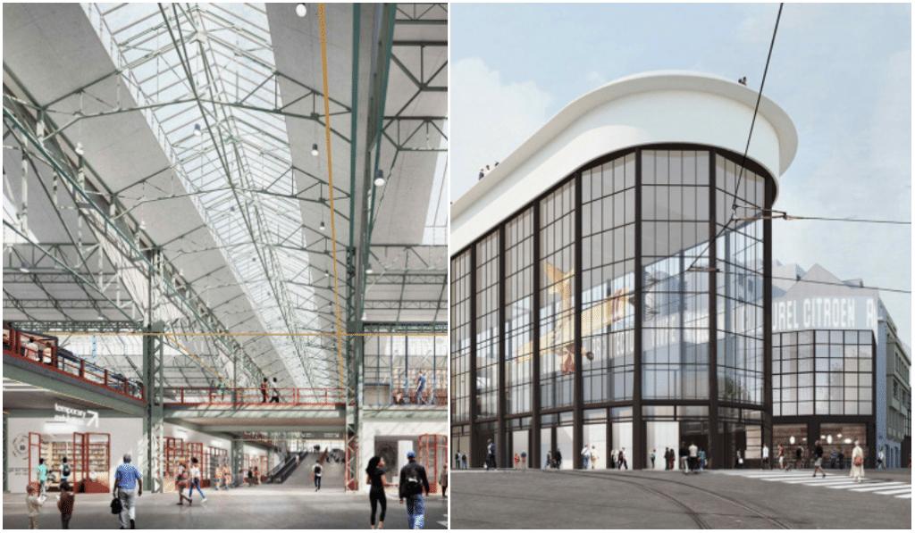 Voici à quoi ressemblera le nouveau musée Kanal Centre Pompidou en 2022