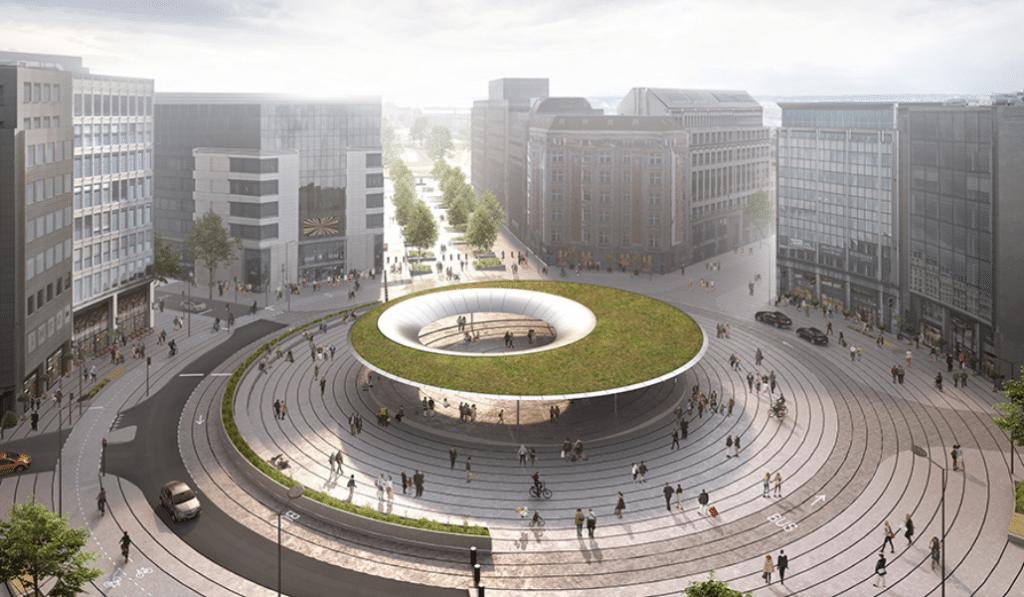 Voici à quoi pourrait ressembler prochainement la place Schuman