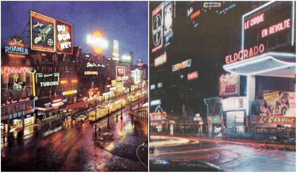 Flashback : revivez l'époque où De Brouckère était Times Square !