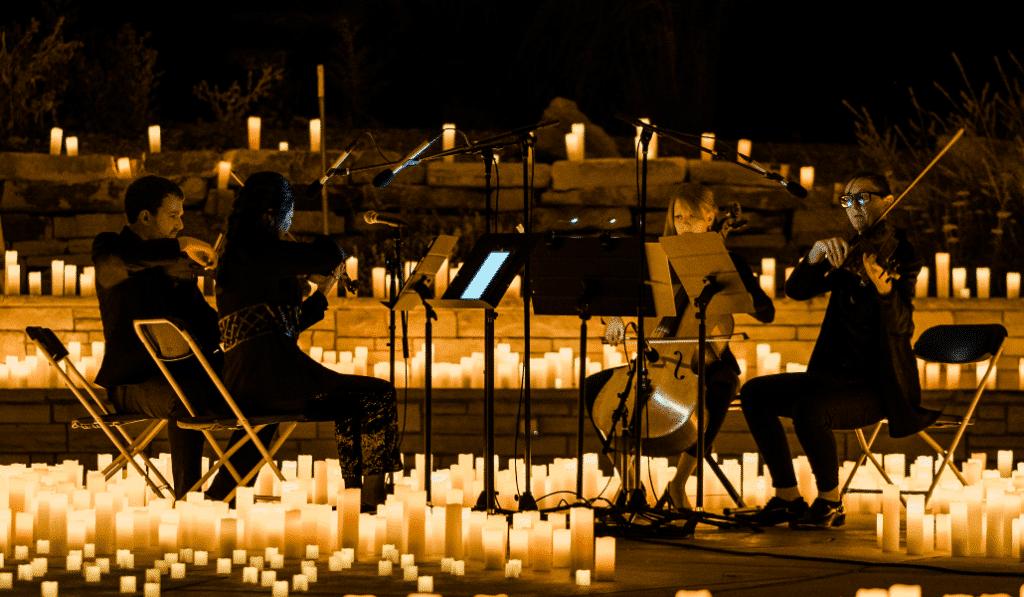 De magnifiques concerts Candlelight Open Air dans un lieu méconnu de Bruxelles !