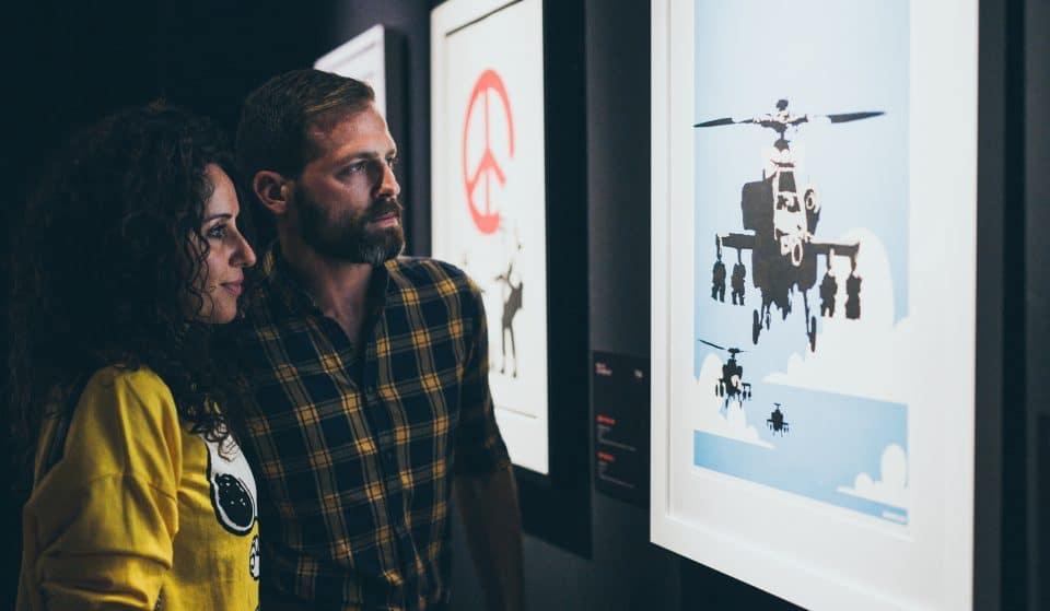 5 oeuvres célèbres de Banksy qui seront présentes à la nouvelle exposition de Bruxelles !