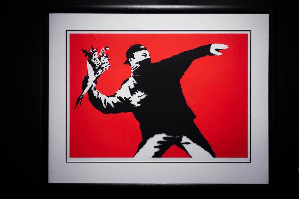Les tickets pour l'exposition immanquable de Banksy à Bruxelles sont en vente !