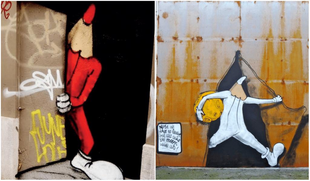 Une exposition sur les Crayons, personnages de street-art à Bruxelles, dès le 1er mai !