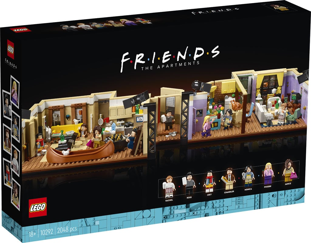 LEGO lance une nouvelle gamme de jouets dédiée à la mythique série F.R.I.E.N.D.S !
