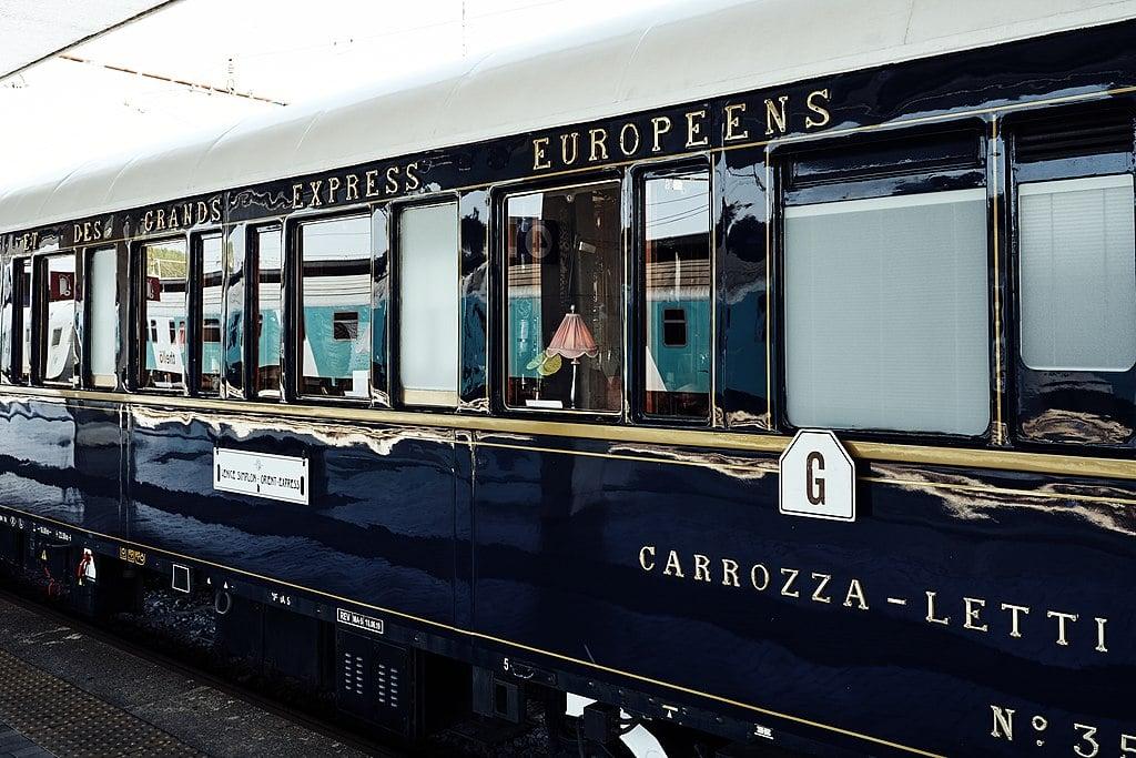 Le mythique train de l'Orient Express stationnera en gare de Bruxelles-Midi ce jeudi !