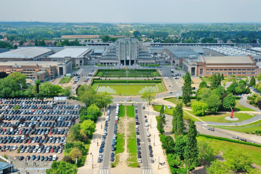 Une gigantesque arène de spectacles en extérieur va se construire face à l'Atomium !