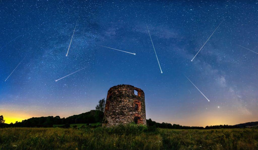 Deux pluies de météores vont avoir lieu dans le ciel de Bruxelles ces prochains jours !