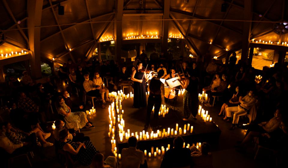 Candlelight Musiques de Dessins Animés : la magie des concerts à la bougie opère à l'Atomium de Bruxelles !