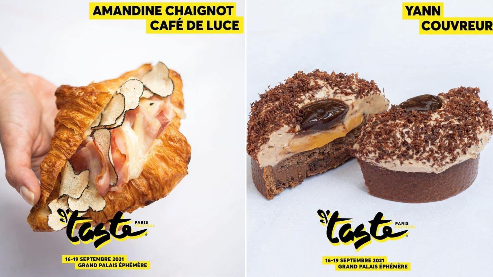 taste of paris menu chef plats dégustation festival culinaire cuisine gastronomie