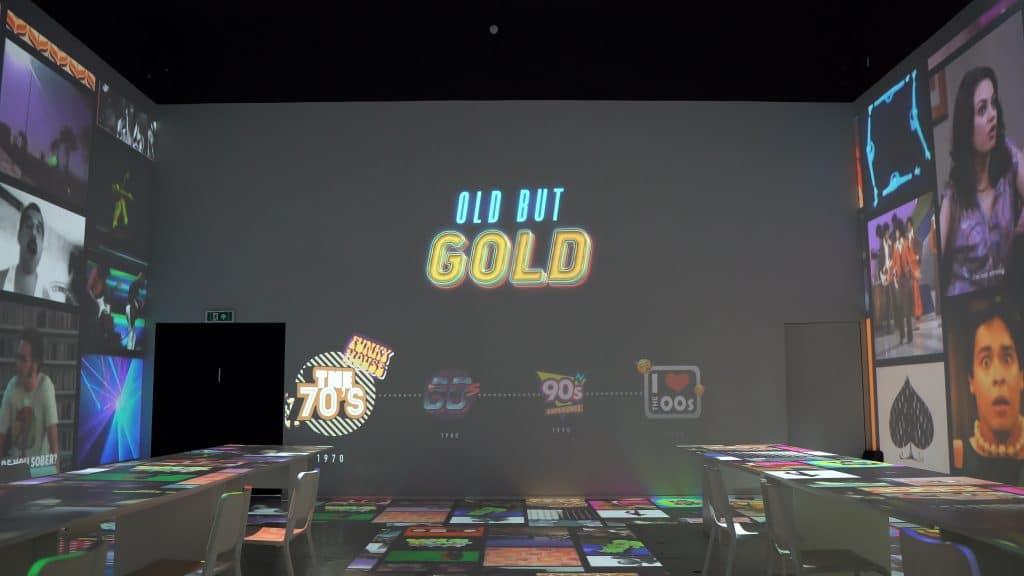 On a testé Old But Gold, l'expérience musicale et gustative du Mont des Arts !