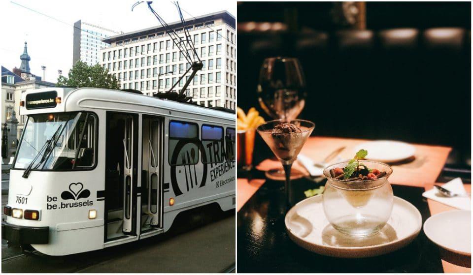 Tram Experience : un extraordinaire repas gastronomique à bord d'un tramway de Bruxelles !