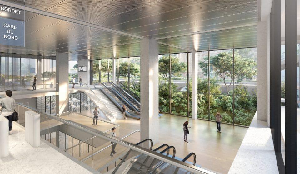 Voici à quoi ressembleront les nouvelles stations et le tracé du Métro 3 à Bruxelles