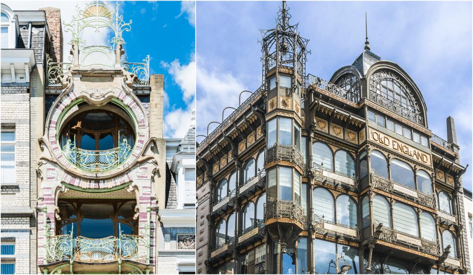 Les plus belles maisons Art Nouveau de Bruxelles
