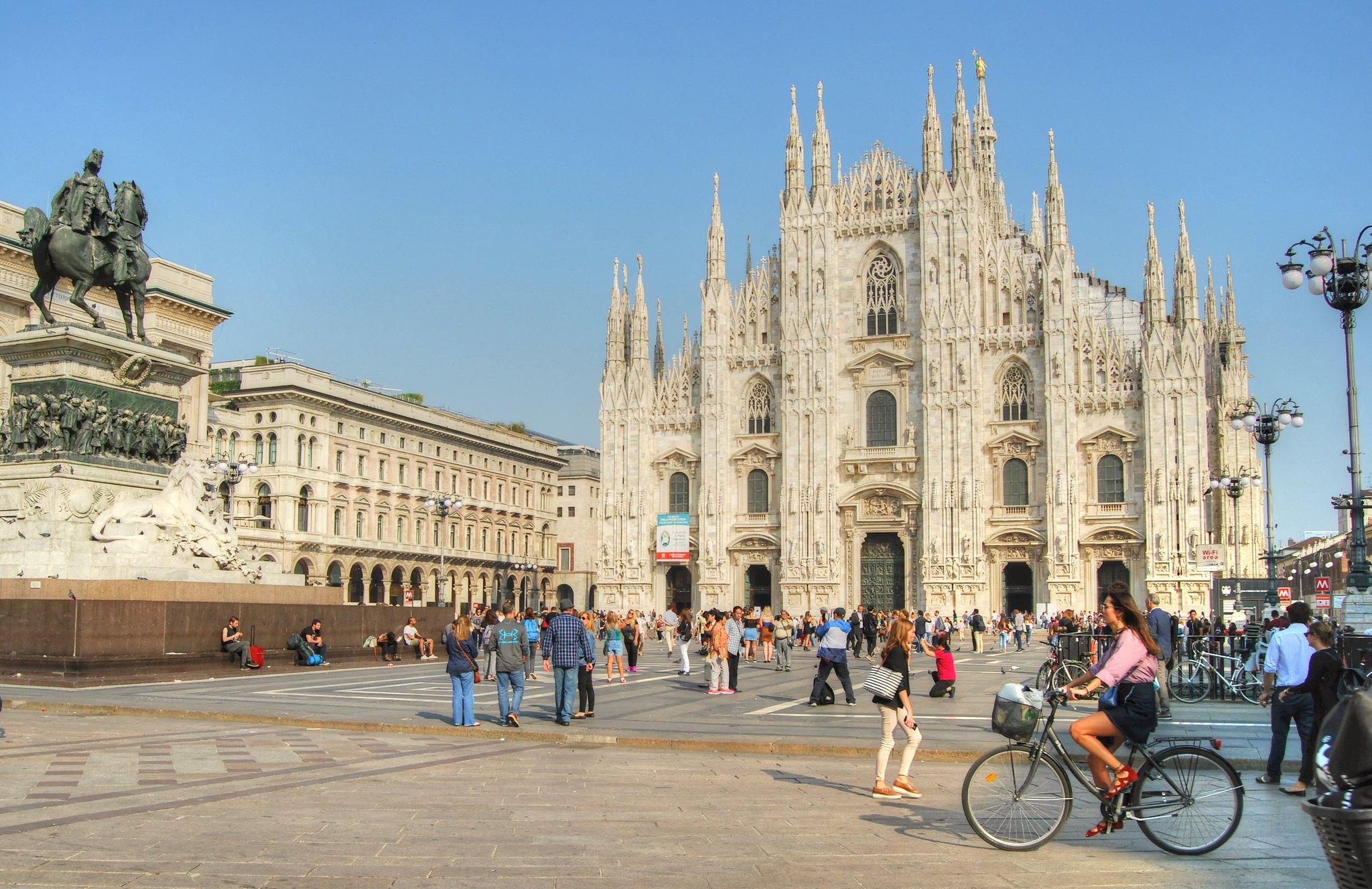 Il Duomo basilique de Milan