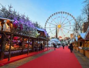 Le Marché de Noël de Bruxelles fera son grand retour du 26 novembre au 2 janvier !