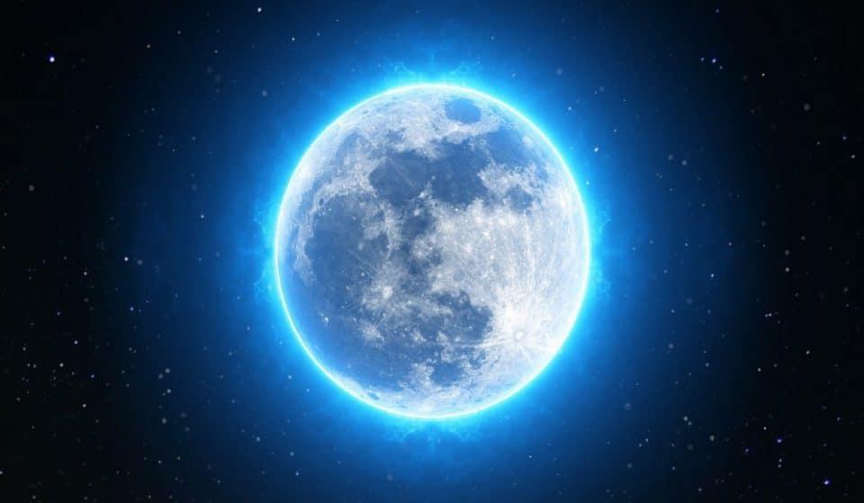 Una enorme Luna azul iluminará la noche de Halloween