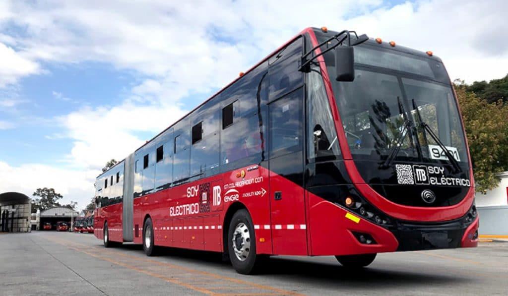 CDMX estrena su primer Metrobús 100% eléctrico