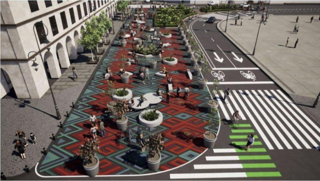 El Centro Histórico tendrá nuevos espacios para peatones