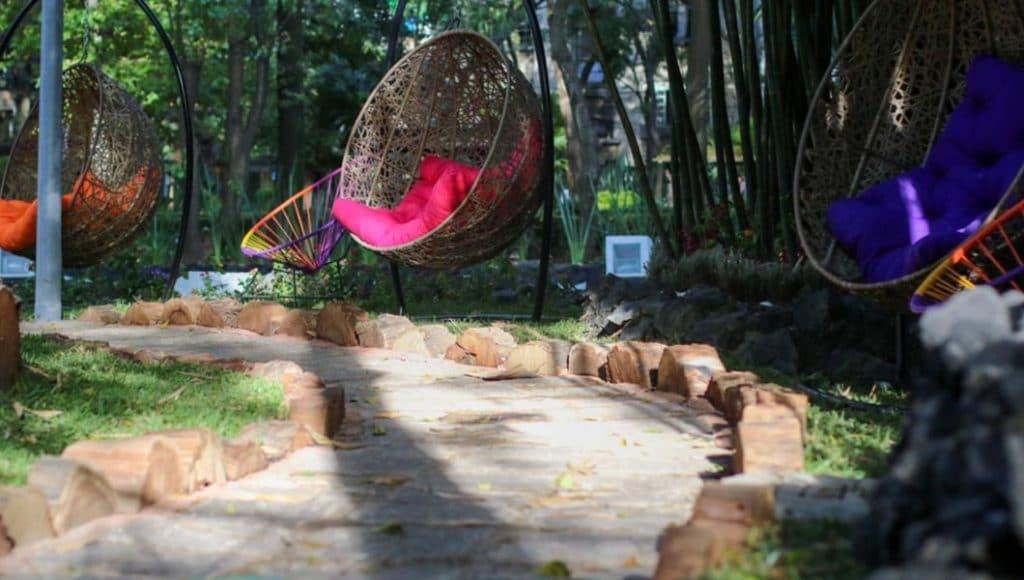 Así es el nuevo espacio para relajarse del Parque México