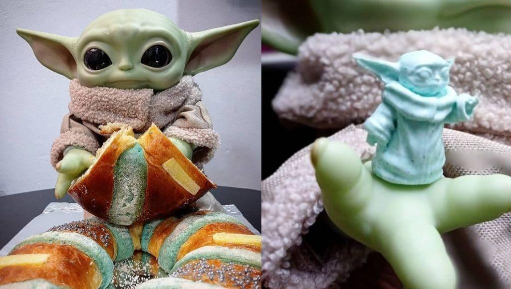 Todo sobre las roscas de reyes de Baby Yoda