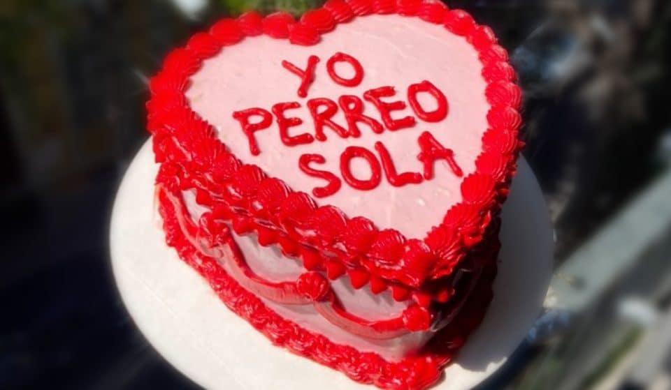 """""""Yo perreo sola"""", el pastel más deseado de San Valentín"""