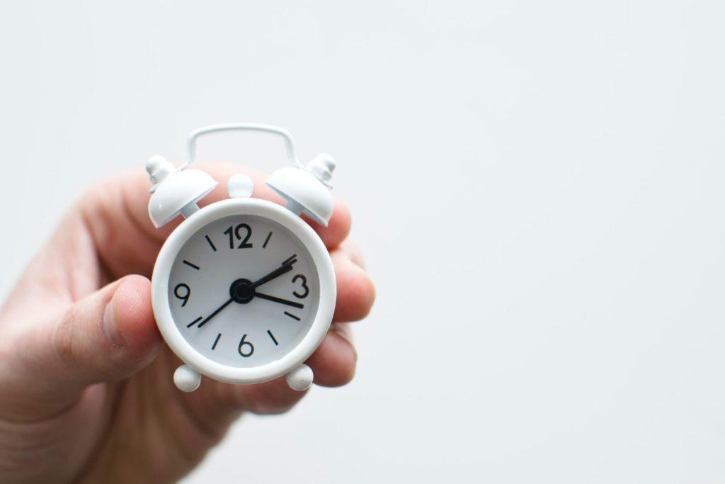 Prepárate este fin de semana para el cambio de horario
