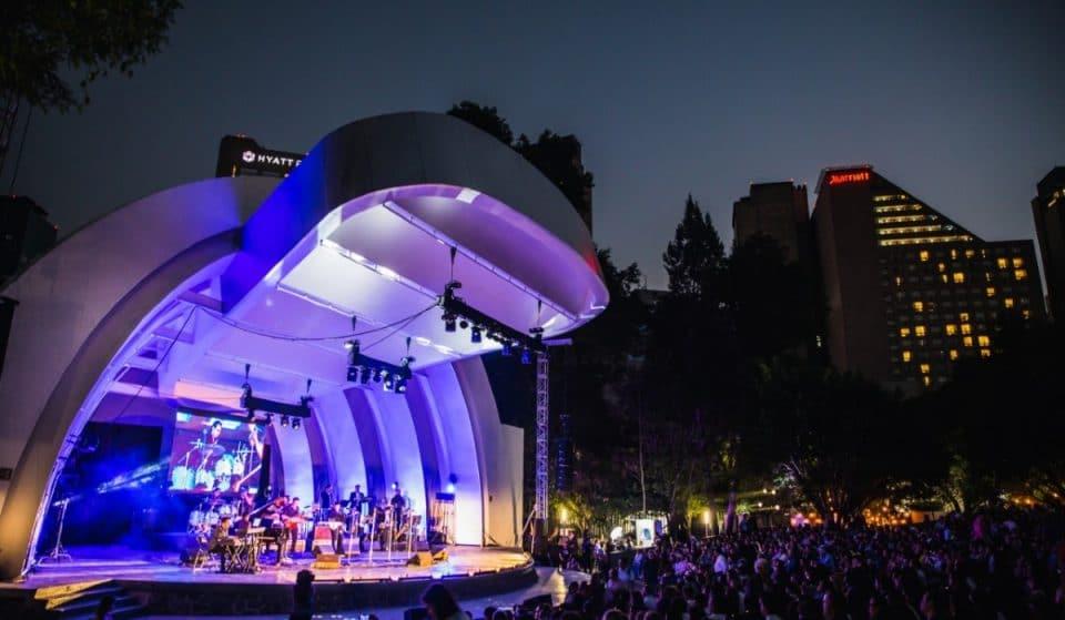 El Festival de Jazz de Polanco, un evento al aire libre imperdible