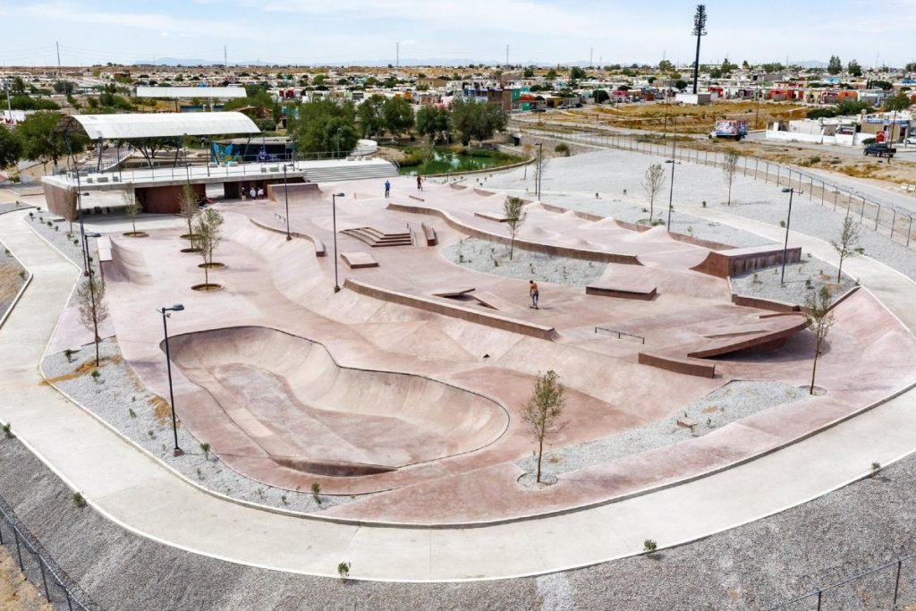 Este skatepark ganó el primer lugar como mejor espacio público