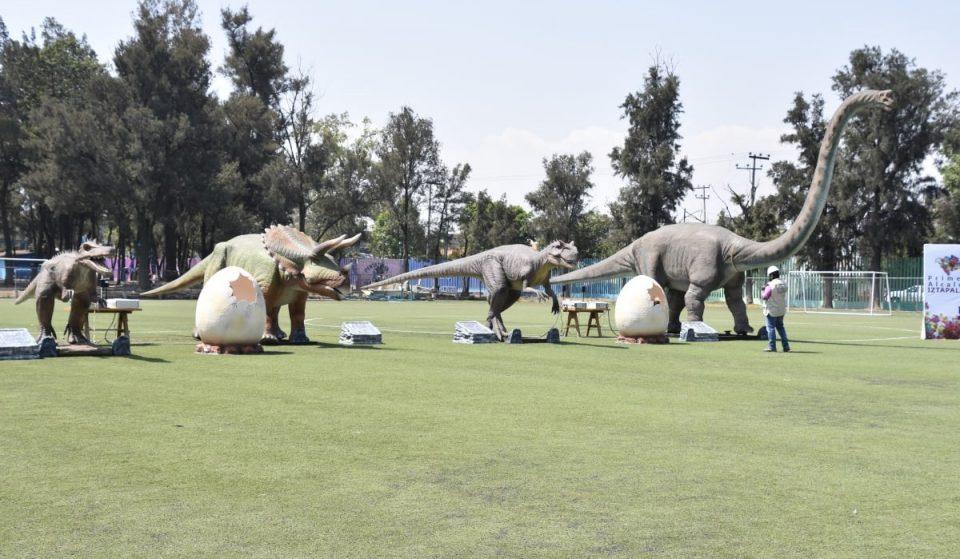 Habrá un nuevo parque de dinosaurios en la CDMX
