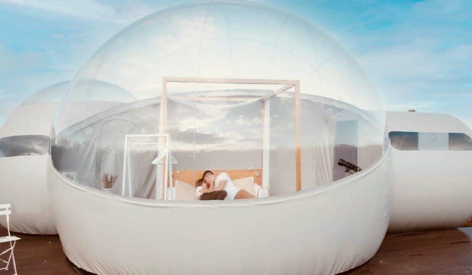 Descubre el primer hotel burbuja de la CDMX