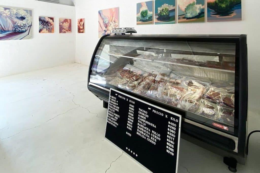 Carnigalería, el extraño lugar que vende cortes y arte