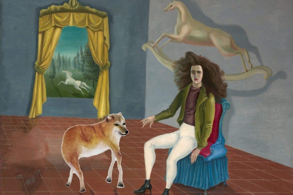 Hay un nuevo recorrido virtual por la casa de Leonora Carrington