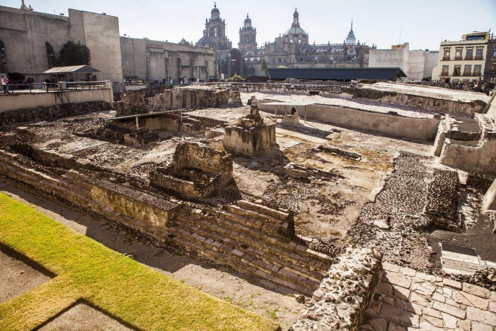 Luego de la granizada, Templo Mayor permanecerá cerrado hasta nuevo aviso