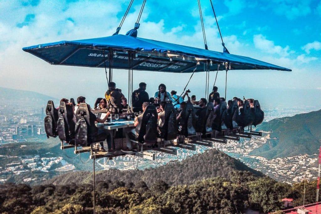 Vuelve Dinner in the Sky a la CDMX, ¿ya lo viviste?