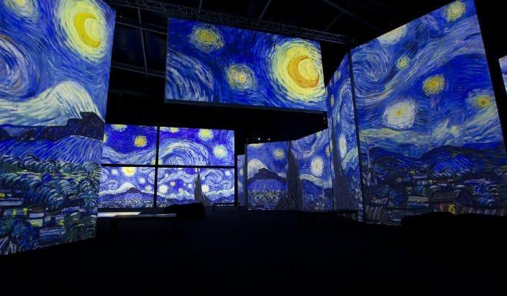 Van Gogh Alive The Experience se quedará hasta septiembre