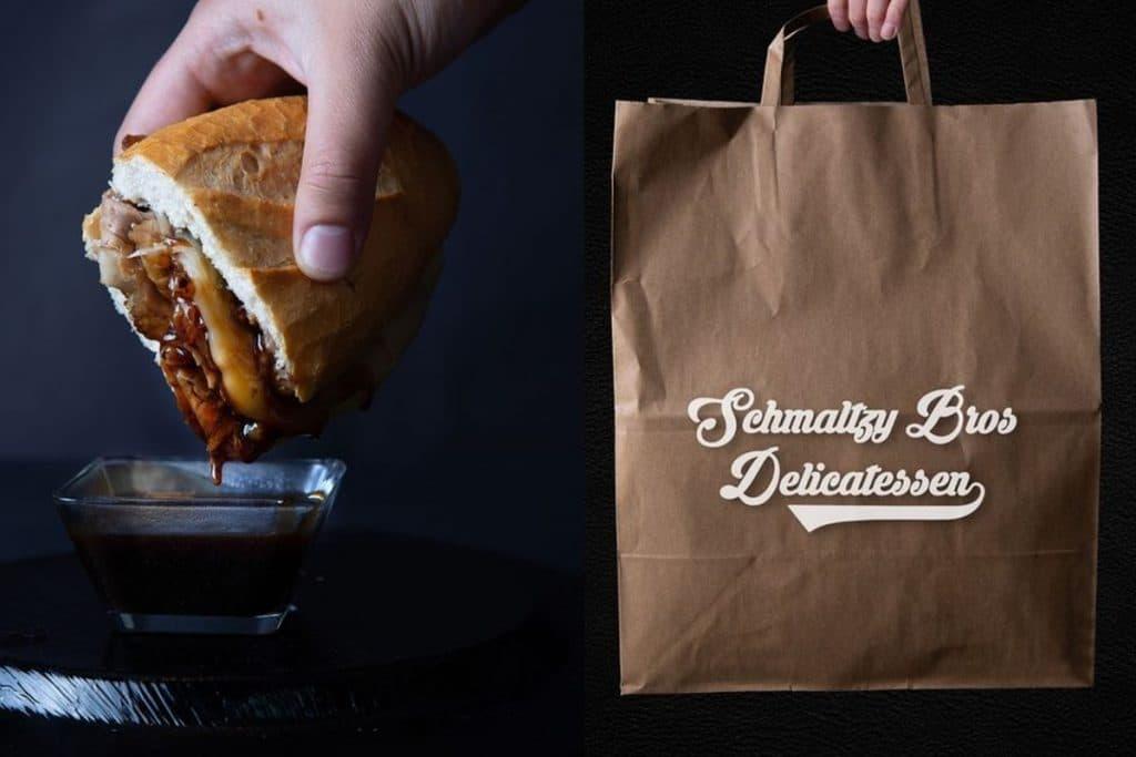 Conoce Schmaltzy Bros Delicatessen, los mejores sándwiches de pastrimi