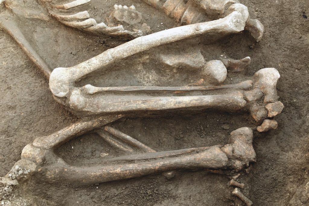 Hallaron al menos 17 entierros prehispánicos en Xochimilco