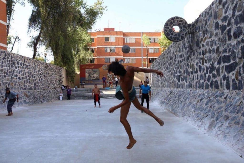 ¿Sabías que en Azcapotzalco hay un lugar para jugar pelota?