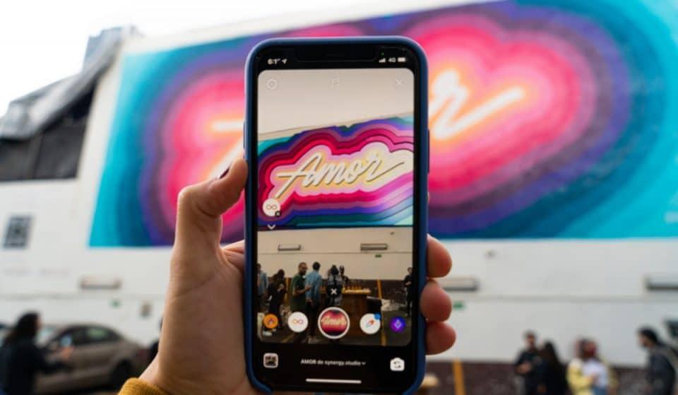 Así es el primer mural con realidad aumentada de la CDMX