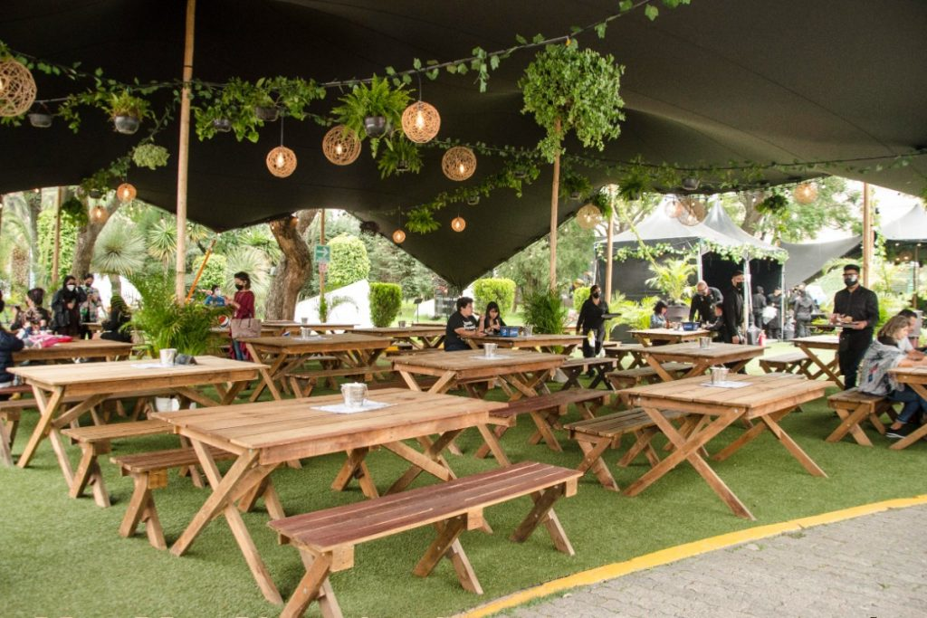 Plan de verano: visitar esta terraza gastronómica temporal