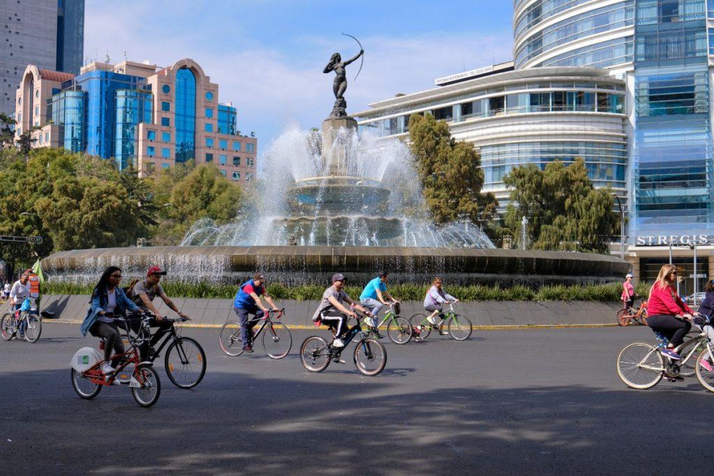 Los mejores lugares para pedalear en la Ciudad de México