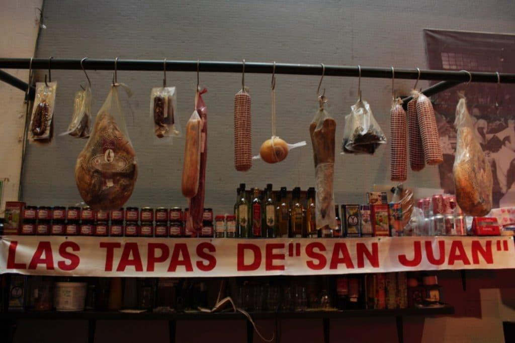 Guía para recorrer el Mercado de San Juan