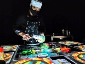 Digital Bistro Japan: un espectáculo con sushi y videomapping que te fascinará
