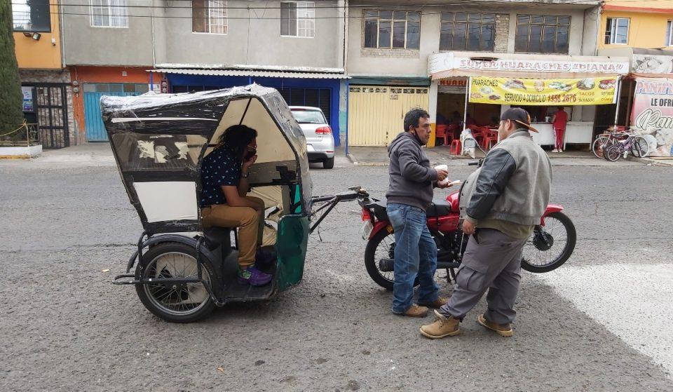 Canalla, una exposición en movimiento a bordo de una mototaxi