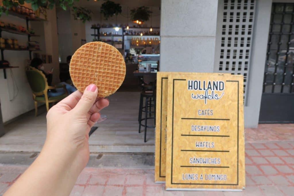 Holland Wafels, la comida callejera holandesa que debes probar
