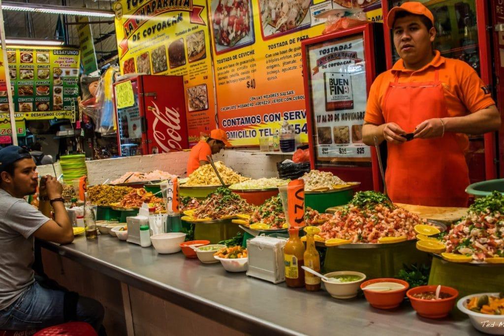 Los puestos más ricos para comer en el Mercado de Coyoacán